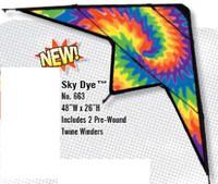 """48""""x 22"""" Sky Dye Stuntmaster Nylon Kite Gayla"""