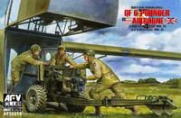 British QF Mk 4 6-Pdr Anti-Tank Gun & Mk III Carriage 1/35 AFV Club