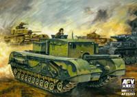 British Churchill Tank w/3 Inch 20 CWT Gun 1/35 AFV Club