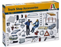 Truck Shop Accessories 1/24 Italeri