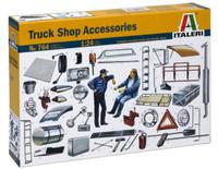 Truck Shop Accessories 1/24 Italeri