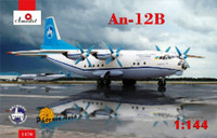 Antonov An12B Cargo Aircraft 1/144 A-Model