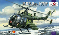 MBB Bo-10P Military Helicopter 1/72 A-Model