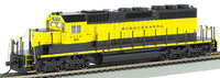 New York, Susquehanna & Western #3018 EMD SD40-2 Diesel Locomotive (DCC Equipped) HO Bachmann Trains