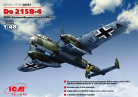 Do215B4 WWII German Recon Aircraft 1/48 ICM Models