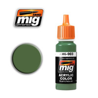 RAL 6011 Resedagrun Acrylic Paint Ammo of Mig Jimenez