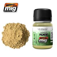 North Africa Dust Weathering Pigment Ammo of Mig Jimenez