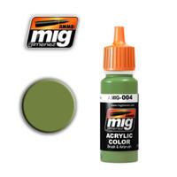 RAL 6011 B Resedagrun Acrylic Paint Ammo of Mig Jimenez