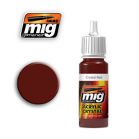 Crystal Red Acrylic Paint Ammo of Mig Jimenez