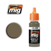 RAL7008 Graugrun Acrylic Paint Ammo of Mig Jimenez