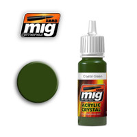 Crystal Green Acrylic Paint Ammo of Mig Jimenez