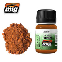 Light Rust Weathering Pigment Ammo of Mig Jimenez