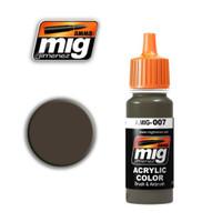 RAL 7017 Dunkelbraun Acrylic Paint Ammo of Mig Jimenez