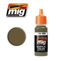 RAL 7027 Sandgrau Acrylic Paint Ammo of Mig Jimenez