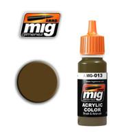 RAL 8000 Gelbbraun Acrylic Paint Ammo of Mig Jimenez