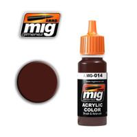 RAL 8012 Rotbraun Acrylic Paint Ammo of Mig Jimenez