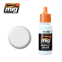 Washable White Camo Acrylic Paint Ammo of Mig Jimenez