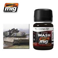 NATO Camouflages Enamel Wash Ammo of Mig Jimenez