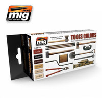 Tool Colors Acrylic Paint Set Ammo of Mig Jimenez
