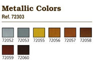 Metallic Paint Set (8 Colors) Vallejo Paint