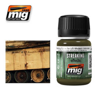 Streaking Grime for US Modern Vehicles Enamel Wash Ammo of Mig Jimenez