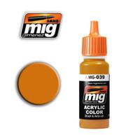 Light Rust Acrylic Paint Ammo of Mig Jimenez
