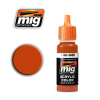 Medium Rust Acrylic Paint Ammo of Mig Jimenez