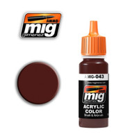 Shadow Rust Acrylic Paint Ammo of Mig Jimenez