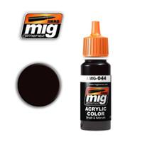 Chipping Acrylic Paint Ammo of Mig Jimenez