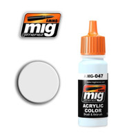 White Acrylic Paint Ammo of Mig Jimenez