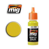 Yellow Acrylic Paint Ammo of Mig Jimenez