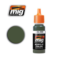 IDF Green Acrylic Paint Ammo of Mig Jimenez