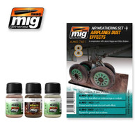 Airplanes Dust Effects Weathering Set Ammo of Mig Jimenez