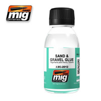 Sand & Gravel Glue Enamel Wash Ammo of Mig Jimenez