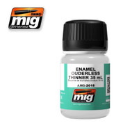 Enamel Odorless Thinner 35 mL Ammo of Mig Jimenez