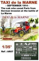 Taxi de la Marne, Sept. 1914 1/35 Mach 2 Models