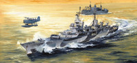 USS Indianapolis CA35 Heavy Cruiser 1944 1/350 Trumpeter