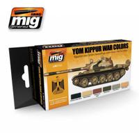 Yom Kippur War Colors Acrylic Paint Set Ammo of Mig Jimenez
