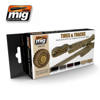 Tires & Tracks Ammo of Mig Jimenez