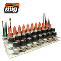 Workbench Organizer Ammo of Mig Jimenez