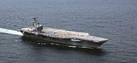 USS George H.W. Bush CVN77 Aircraft Carrier 1/720 Italeri