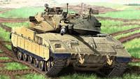 Merkava Mk IID Tank 1/35 Academy
