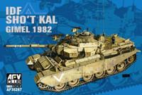 IDF Sho' Kal Tank w/Blazer Explosive Reactive Armor, Gimel 1982 1/35 AFV Club