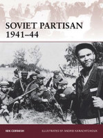 Warrior: Soviet Partisan 1941-44 Osprey Books