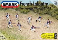 Peninsular War 1807-14 French Infantry 1/72 Emhar