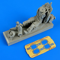 MiG21/23 Soviet Fighter Pilot w/Ejection Seat 1/32 Aerobonus