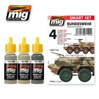 Bundeswehr Afghanistan Scheme SMART Acrylic Set Ammo of Mig Jimenez