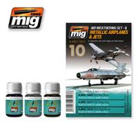 Metallic Airplanes & Jets Ammo of Mig Jimenez