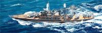 USS West Virginia BB-48 Battleship 1941 1/700 Trumpeter