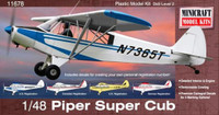 Piper Super Cub Aircraft 1/48 Minicraft